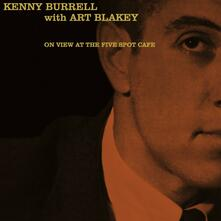At the Five Spot Cafe - Vinile LP di Kenny Burrell