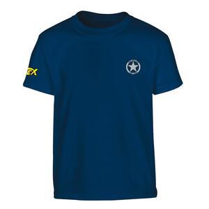 T-Shirt Tex. Distintivo Ranger Stella Petto, Logo Su Manica