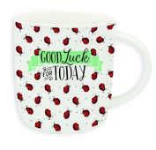 Idee regalo Tazza Buongiorno Mug Aphorism. Good Luck Legami
