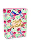 Cartoleria Sacchetto regalo Gift Bag Small. Flowers Legami
