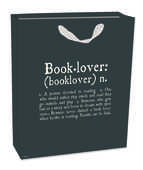 Cartoleria Sacchetto regalo Gift Bag Medium. Booklovers Legami