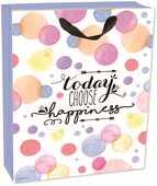 Cartoleria Sacchetto regalo Gift Bag Medium. Happiness Legami
