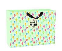Cartoleria Sacchetto regalo Gift Bag Extra Large. Balloons Legami