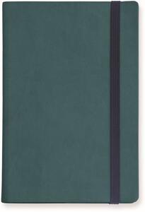 Cartoleria Taccuino Legami My Notebook large a pagine bianche. Blu petrolio Legami