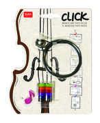Idee regalo Click Photo Holder. Filo magnetico portafoto. Musical Notes Legami