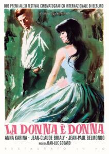 Film La donna è donna (Restaurato in HD) (DVD) Jean-Luc Godard