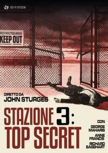 Film Stazione 3. Top Secret (Restaurato in HD) (DVD) John Sturges