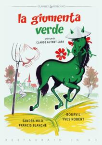 Film La Giumenta verde (Restaurato in HD) (DVD) Claude Autant-Lara