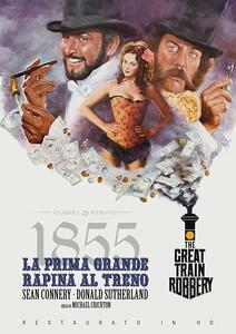 Film 1855: la prima grande rapina al treno (Restaurato in HD) (DVD) Michael Crichton