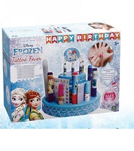 Frozen Happy Birthday Tattoo Fever. Set Crea Tatuaggi
