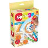 Giocattolo Blo Pens. Blaster Kit. 3 Penne + 1 Blaster + 3 Stencil Auguri Preziosi
