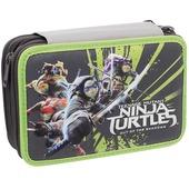 Astuccio attrezzato 3 zip Turtles - Tartarughe Ninja