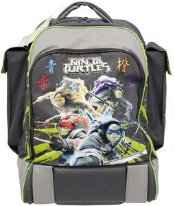 Cartoleria Zaino scuola Xrolley Turtles - Tartarughe Ninja con pistola spara dardi in omaggio Auguri Preziosi 0
