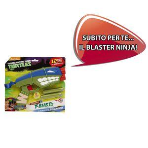 Cartoleria Zaino scuola Xrolley Turtles - Tartarughe Ninja con pistola spara dardi in omaggio Auguri Preziosi 1