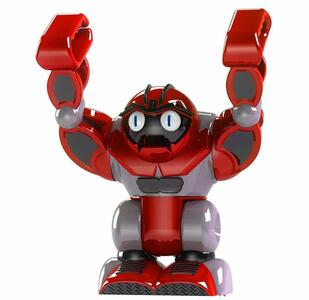 Boombot. Robot Spaccatutto Sempre In Piedi