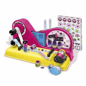 Only 4 Girls. Tape Machine. Playset Crea Nastro Decorativo, Stencil, Timbri E Stickers