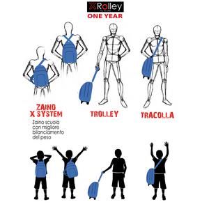 Cartoleria Zaino Xrolley Boy Mod. Street Auguri Preziosi 6
