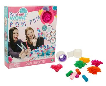 Pom Pom Wow. Party Kit 50 Pom Pom E Accessori - 2
