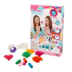 Pom Pom Wow. Variety Pack 120 Pom Pom E Accessori - 8