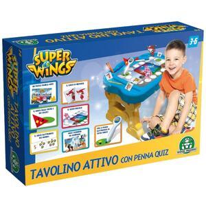 Super Wings. Tavolino attivo elettronico con penna - 3