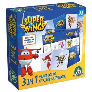 Super Wings. Super Memo 3 in 1 - 2