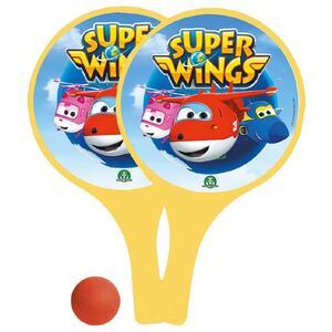 Super Wings. Set 2 Racchette e 1 Pallina - 2