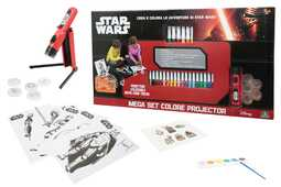Idee regalo Set Colore Projector Star Wars Auguri Preziosi