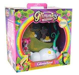Glimmies. Rainbow Friends. Glimwheel Con Glimmie Esclusiva