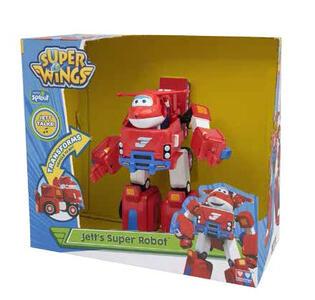 Super Wings. Jett Super-Robot. Veicolo Trasformabile S2