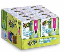 I Do 3D. 3D Print Creator Refill Cdu. 1 Inchiostro+1 Formula 4D