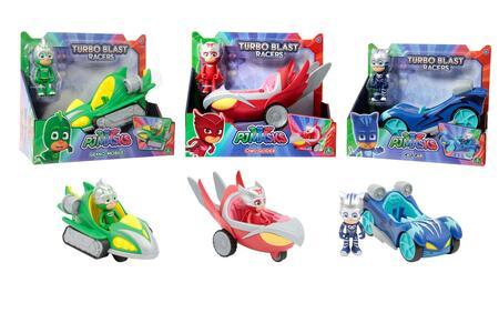PJ Masks turbo blast veicolo e personaggio Giochi Preziosi