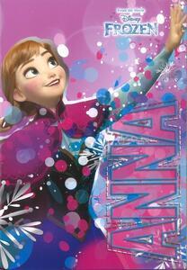 Quaderno maxi A4 Frozen. 1 rigo