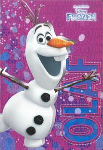 Quaderno maxi A4 Frozen. 1 rigo - 3