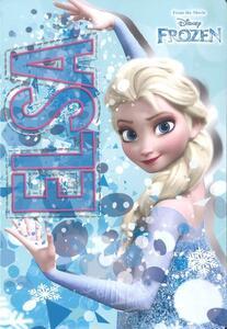 Quaderno maxi A4 Frozen. Quadretti grandi 5 mm