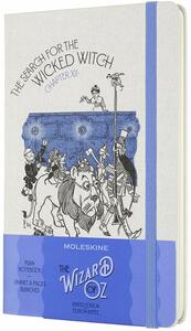 Cartoleria Taccuino Moleskine Wizard of Oz a pagine bianche Large Wicked Witch. Blu Moleskine
