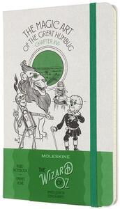Cartoleria Taccuino Moleskine Wizard of Oz a righe Large Magic Art. Verde Moleskine