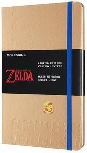 Cartoleria Taccuino Moleskine a righe Large Zelda Moving Link Moleskine