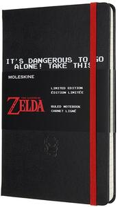 Cartoleria Taccuino Moleskine a righe Large Zelda Sword Moleskine