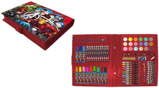 Avengers. Valigetta Colori 80 Pz - 2