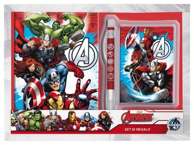 Cartoleria Avengers. Diario Segreto + Agenda + Penna Joko