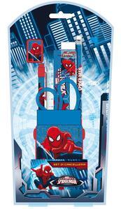 Spider-Man. Set Cancelleria 5 Pz