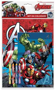 Avengers. Set Da Colorare