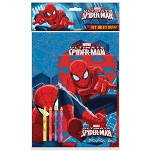 Giocattolo Spider-Man. Set Da Colorare Joko
