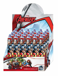 Cartoleria Gomma A Forma di Matita 1 Pz Avengers Auguri Preziosi