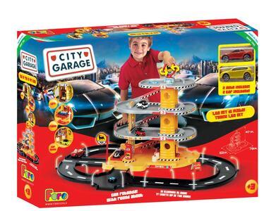 Garage 4 Livelli Con Pista Rotonda - 10
