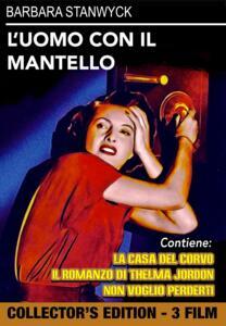Film L' uomo con il mantello - Il romanzo di Thelma Jordon - Non voglio perderti (DVD) Robert Siodmak Fletcher Markle Mitchell Leisen