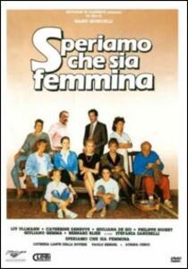 Speriamo che sia femmina di Mario Monicelli - DVD