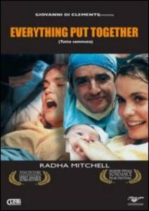 Everything Put Together di Marc Forster - DVD