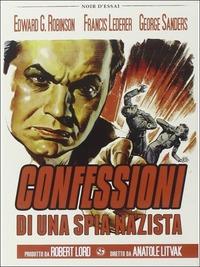 Locandina Confessione di una spia nazista