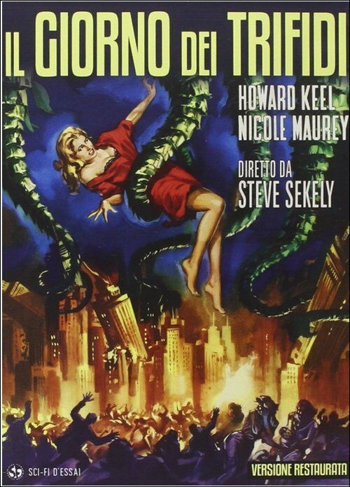 Risultati immagini per il giorno dei trifidi film 1962